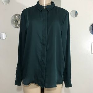 H &M long sleeve blouse size 12 new without tag